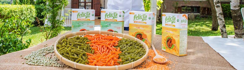 Felicia Bio Pasta Huelsenfruechte