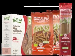 Vollkornreis-Pasta von Felicia Bio